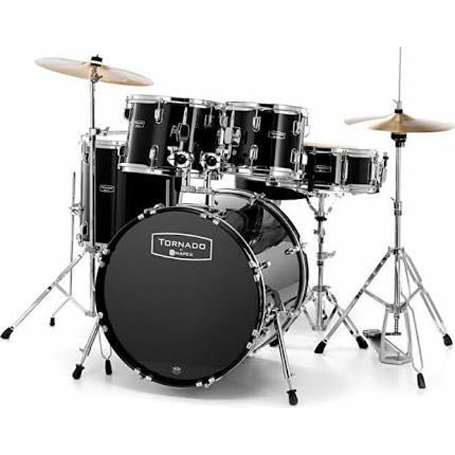 Mapex Tornado with cymbal